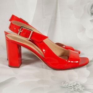Kate Spade Patent Leather Sling Back Heels